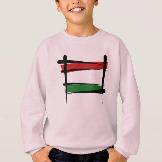 Bandeira da escova de Hungria Tshirt