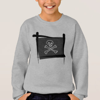 Bandeira da escova do pirata camisetas