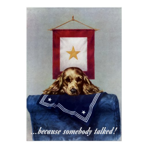 Bandeira da estrela do ouro -- Porque alguém falou Impressão