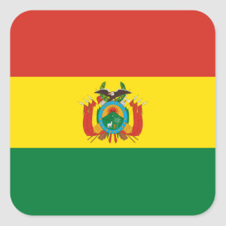 Bandeira da etiqueta de Bolívia