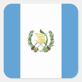 Bandeira da etiqueta de Guatemala