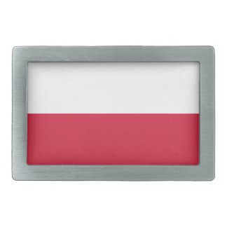 Bandeira da fivela de cinto do Polônia