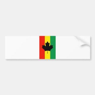 Bandeira da folha de bordo da reggae de Rasta Adesivo Para Carro