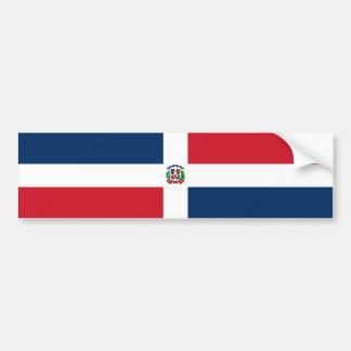 Bandeira da República Dominicana Adesivo Para Carro