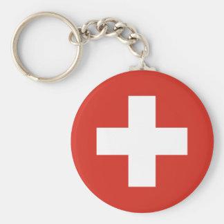 Bandeira da suiça chaveiro