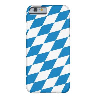 bandeira da terra de Alemanha do bavaria Capa Barely There Para iPhone 6