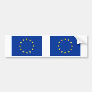 Bandeira da União Europeia Adesivo Para Carro