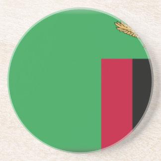 Bandeira da Zâmbia Porta-copo