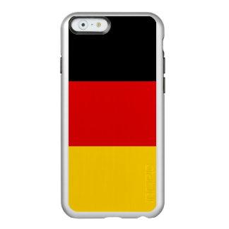 Bandeira das capas de iphone de prata de Alemanha Capa Incipio Feather® Shine Para iPhone 6