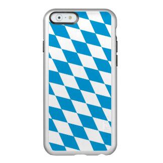 Bandeira das capas de iphone de prata de Baviera Capa Incipio Feather® Shine Para iPhone 6