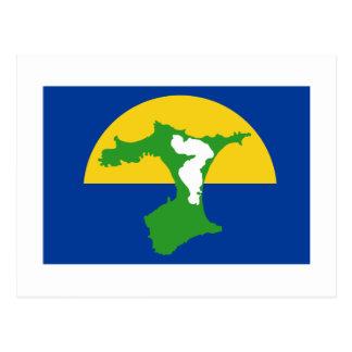 Bandeira das ilhas de Chatham Cartão Postal