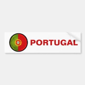 bandeira de 3D Portugal Adesivo Para Carro