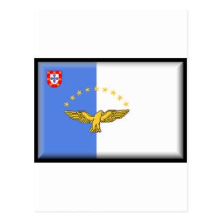 Bandeira de Açores (Portugal) Cartoes Postais