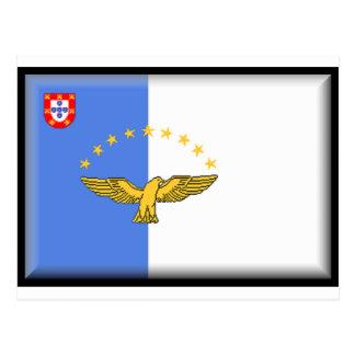 Bandeira de Açores (Portugal) Cartões Postais