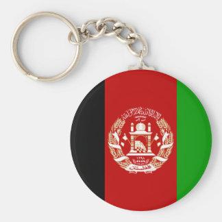 Bandeira de Afeganistão Chaveiro