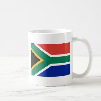 Bandeira de África do Sul Caneca