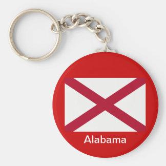 Bandeira de Alabama Chaveiro