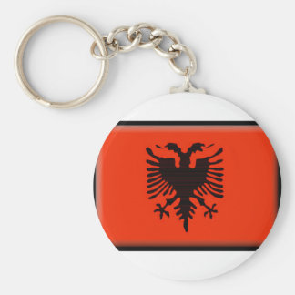 Bandeira de Albânia Chaveiro