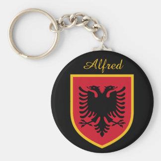 Bandeira de Albânia Chaveiros