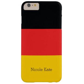 Bandeira de Alemanha Capa Barely There Para iPhone 6 Plus