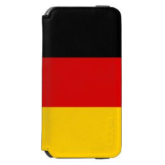 Bandeira de Alemanha Capa Carteira Incipio Watson™ Para iPhone 6