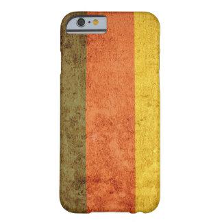 Bandeira de Alemanha - Grunge Capa Barely There Para iPhone 6