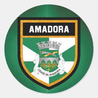 Bandeira de Amadora Adesivo