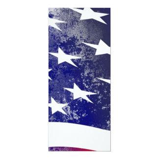 """Bandeira de América Convite 10.16"""" X 23.49cm"""