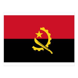 Bandeira de Angola - Bandeira de Angola Cartão Postal