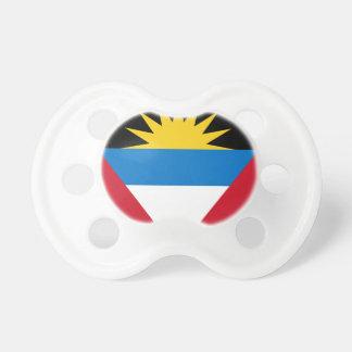 Bandeira de Antígua e de Barbuda Chupeta Para Bebê