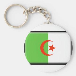 Bandeira de Argélia Chaveiro