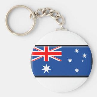 Bandeira de Austrália Chaveiro