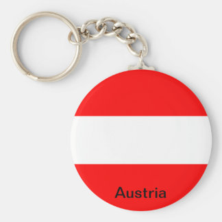 Bandeira de Áustria Chaveiro