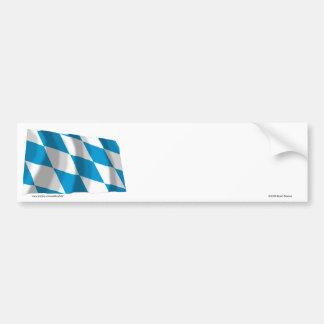 Bandeira de Baviera/Baviera (versão de Lozengy) Adesivo Para Carro