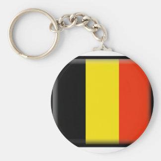 Bandeira de Bélgica Chaveiro