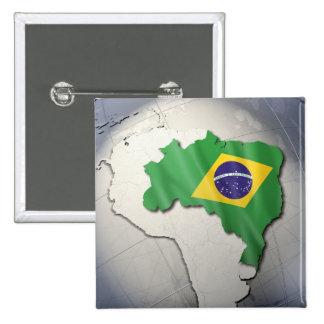 Bandeira de Brasil Pins