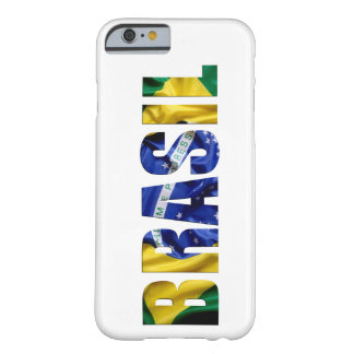 Bandeira de Brasil Capa iPhone 6 Barely There