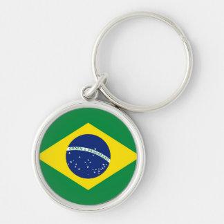 Bandeira de Brasil Chaveiros