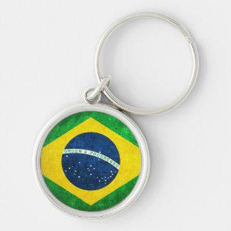 Bandeira de Brasil Chaveiro
