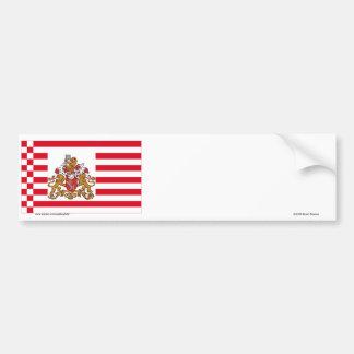 Bandeira de Brema com maiores braços Adesivo Para Carro