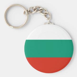 Bandeira de Bulgária Chaveiro