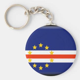 Bandeira de Cabo Verde Chaveiro