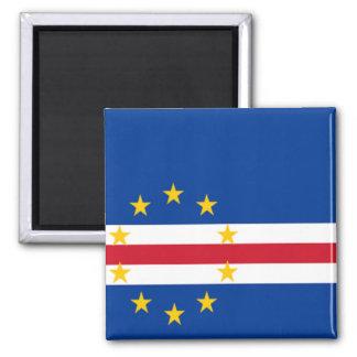 Bandeira de Cabo Verde Ímã Quadrado