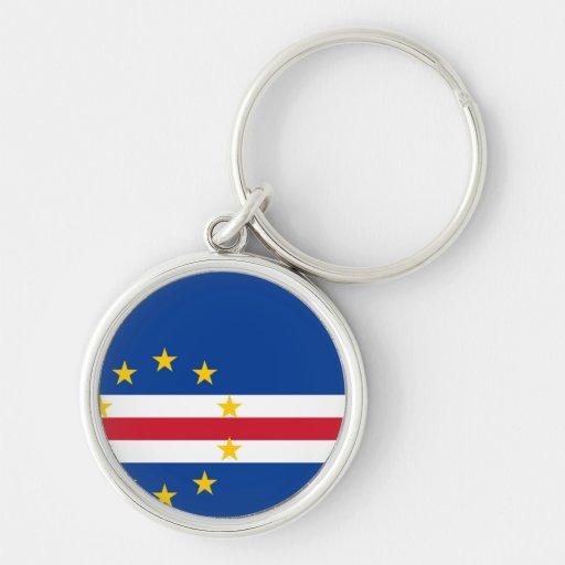 Bandeira de Cabo Verde Chaveiros