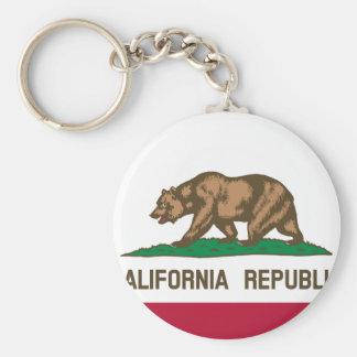 Bandeira de Califórnia Chaveiro