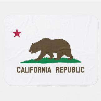 Bandeira de Califórnia Cobertorzinhos Para Bebe