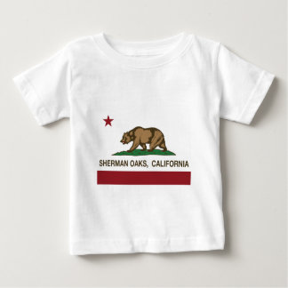 bandeira de Califórnia dos carvalhos de sherman T-shirts