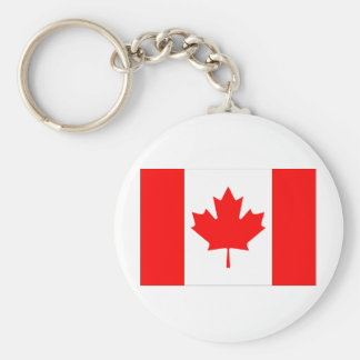 Bandeira de Canadá Chaveiro