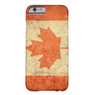 Bandeira de Canadá - Grunge Capa Barely There Para iPhone 6