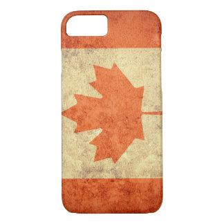 Bandeira de Canadá - Grunge Capa iPhone 7